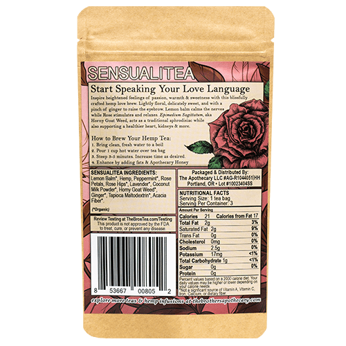 SensualiTEA Hemp Tea