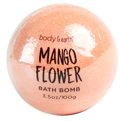 Mango Flower Bath Bomb