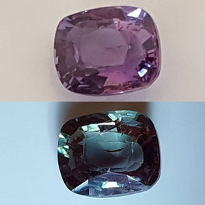 Gemstone - Alexandrite (natural!) - .615 ct cushion