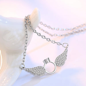 Angel Wings Sterling Silver Necklace - Timeless Modern Home