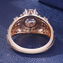 Load image into Gallery viewer, 14k Rose Gold Diamond Ring - Timeless Modern Home