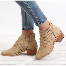 Load image into Gallery viewer, Women's Casual Ankle Boots