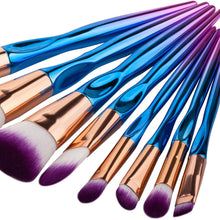 Load image into Gallery viewer, 10 pc Makeup Brush Set - Timeless Modern Home