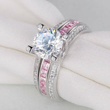 Load image into Gallery viewer, Elegant Diamond Ring Set - Timeless Modern Home