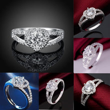 Load image into Gallery viewer, Elegant Heart Diamond Ring - Timeless Modern Home