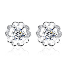 Load image into Gallery viewer, Diamond Stud Earrings - Timeless Modern Home