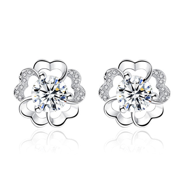 Diamond Stud Earrings - Timeless Modern Home