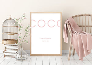 COCO Wall Art Canvas - Timeless Modern Home