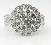 Load image into Gallery viewer, 14K White Gold Diamond Ring - Timeless Modern Home