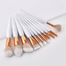 Load image into Gallery viewer, 11 pc Professional Makeup Brush Set - Timeless Modern Home
