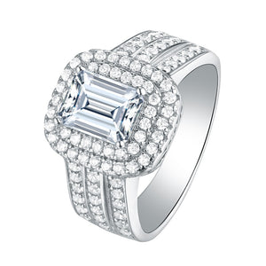 Luxury Princess Cut Diamond Ring - Timeless Modern Home