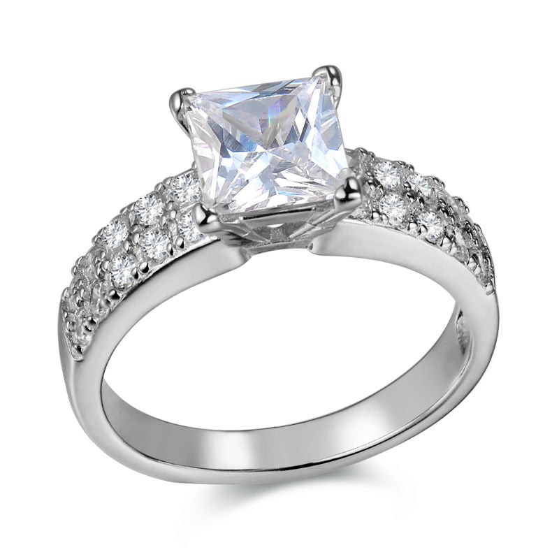 Princess Cut Diamond Ring - Timeless Modern Home