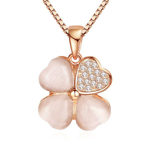 4 Leaf Clover Pendant Necklace - Timeless Modern Home