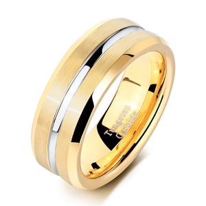 Classic Men's Gold Ring - Timeless Modern Home
