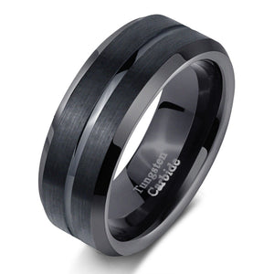 Classic Black Men's Ring - Timeless Modern Home