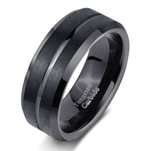 Load image into Gallery viewer, Classic Black Men's Ring - Timeless Modern Home