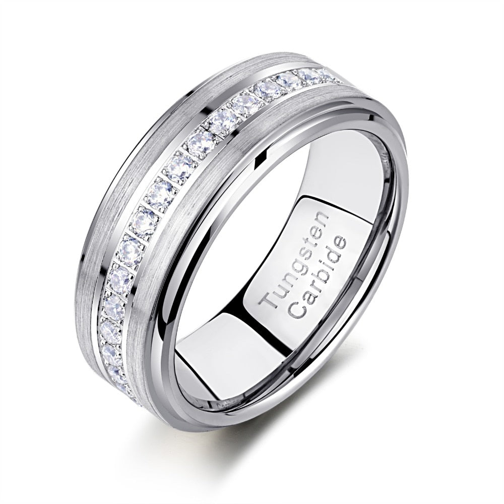 Classic Men's Diamond Ring - Timeless Modern Home
