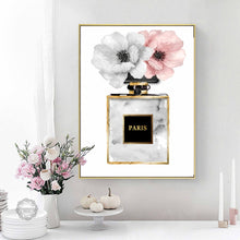Load image into Gallery viewer, Perfume Flower Wall Art Canvas - Timeless Modern Home
