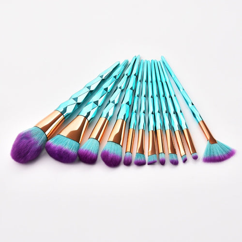 12 pc Professional Makeup Brush Set - Timeless Modern Home