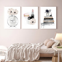 Load image into Gallery viewer, Lipstick Wall Art Canvas - Timeless Modern Home