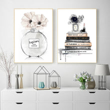 Load image into Gallery viewer, Perfume Wall Art Canvas - Timeless Modern Home