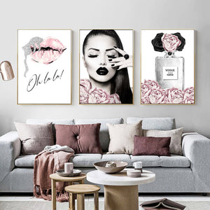 Fashion Wall Art Canvas - Timeless Modern Home