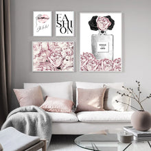 Load image into Gallery viewer, Pink Flowers Wall Art Canvas - Timeless Modern Home