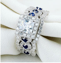 Load image into Gallery viewer, 3pc Elegant Diamond Ring Set - Timeless Modern Home