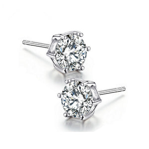 Elegant Diamond Stud Earrings - Timeless Modern Home
