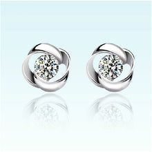 Load image into Gallery viewer, Elegant Diamond Stud Earrings - Timeless Modern Home