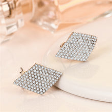 Load image into Gallery viewer, Classic Design Diamond Earrings - Timeless Modern Home