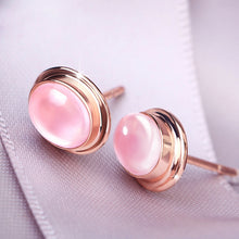 Load image into Gallery viewer, Vintage Moonstone Stud Earrings - Timeless Modern Home