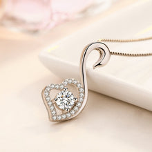 Load image into Gallery viewer, Elegant Diamond Heart Pendant Necklace - Timeless Modern Home