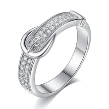 Load image into Gallery viewer, Elegant Belt Ring - Timeless Modern Home