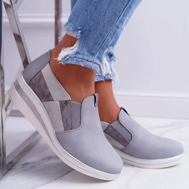 Women's Casual Flat Slip On Shoes