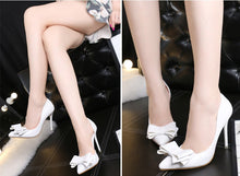 Load image into Gallery viewer, Women's Bow Tie High Heels