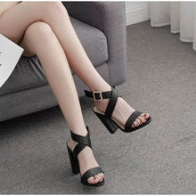 Load image into Gallery viewer, Women's Casual High Heel Sandals