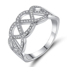Load image into Gallery viewer, Elegant Infinite Diamond Ring