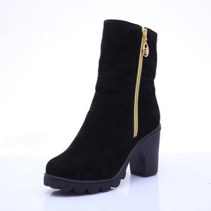 Women's High Heel Ankle Boots
