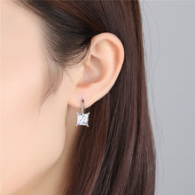 Load image into Gallery viewer, Luxury Diamond Sterling Silver Earrings - Timeless Modern Home