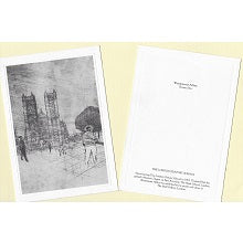 PACK OF 10 THOMAS FLINT POSTCARDS WITH ENVELOPES