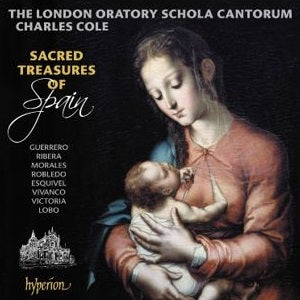 CD The Schola Cantorum: Sacred Treasures of Spain