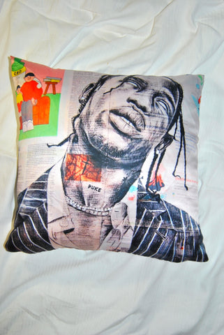 Travis Scott Pillow