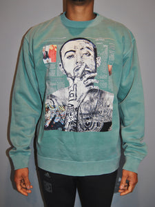 Mac Miller Crewneck - Mint