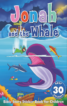 Jonah and the Whale - Bible Sticker Book