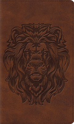 ESV Thinline Bible - Trutone, Royal Lion