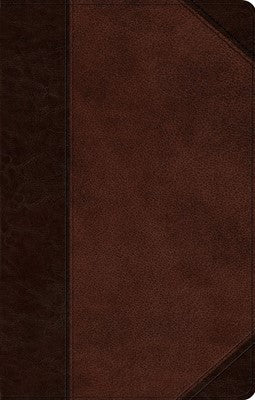 ESV Ultrathin Bible - Trutone, Brown/Walnut, Portfolio