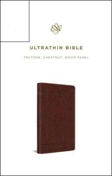 ESV Ultrathin Bible Chestnut