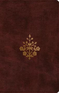 ESV Study Bible, Personal Size  TruTone®, Burgundy, Branch Design