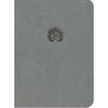 ESV Reformation Study Bible Lth Like Light Grey